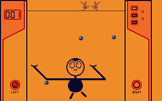 Double Juggle Vegatabobble atari screenshot